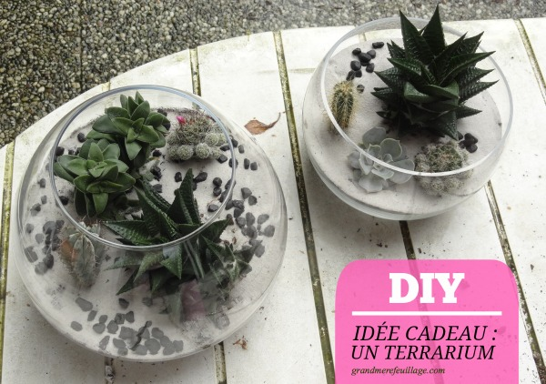 diy id e cadeau un terrarium. Black Bedroom Furniture Sets. Home Design Ideas